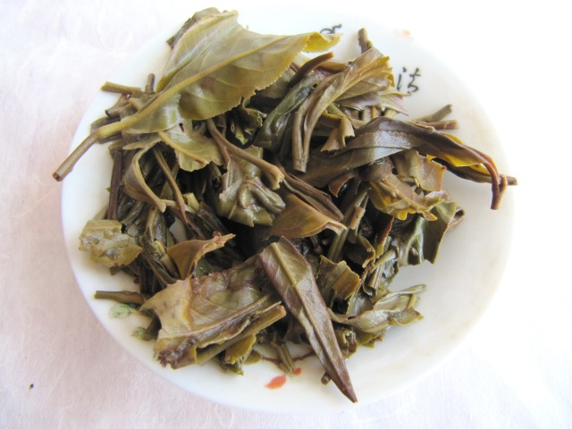 man zhuan 2012 spring raw puerh tea