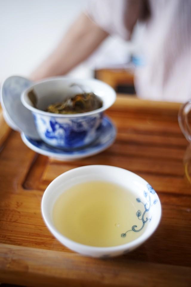 qing sheng- jing jia tang -raw puer tea
